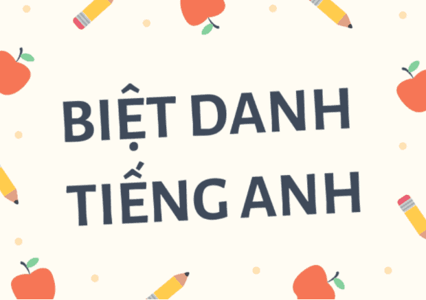 Biệt danh tiếng Anh cho game